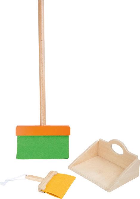 Σετ ξύλινο Παιδικό  Σκούπα κωδ.L010329