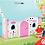 Thumbnail: Κουκλόσπιτο πλήρως επιπλωμένο με δώρο κούκλες κωδ.L10737