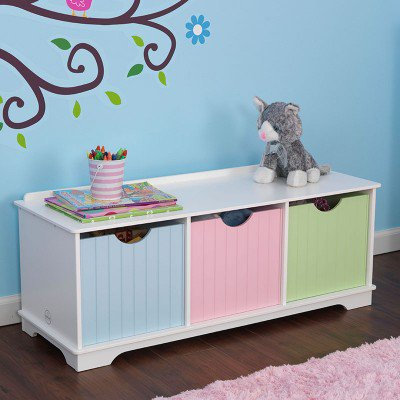 kidkraft Nantucket Storage Bench-Pastel Κωδ.14565