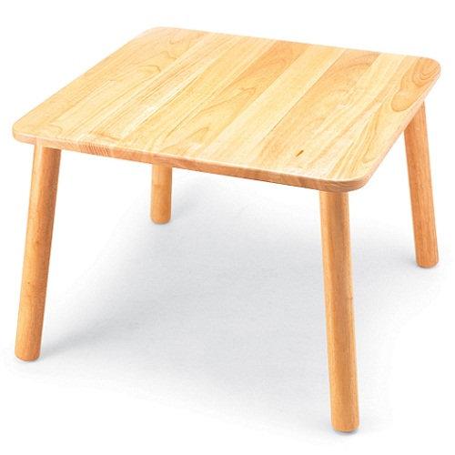 Τραπέζι σε φυσικό χρώμα τετράγωνο Κωδ:Τ04970