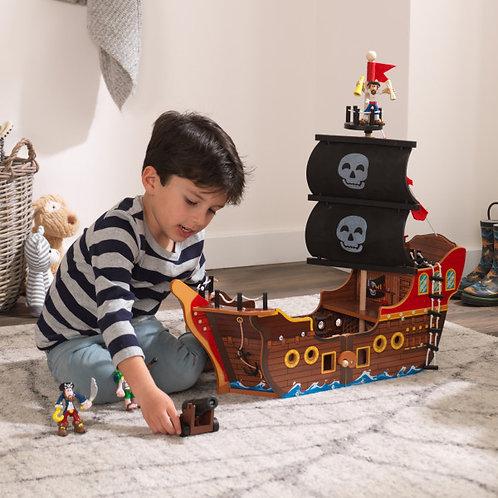 """""""Μεγάλο αναδιπλούμενο Πειρατικό καράβι """" Κωδ.10501"""