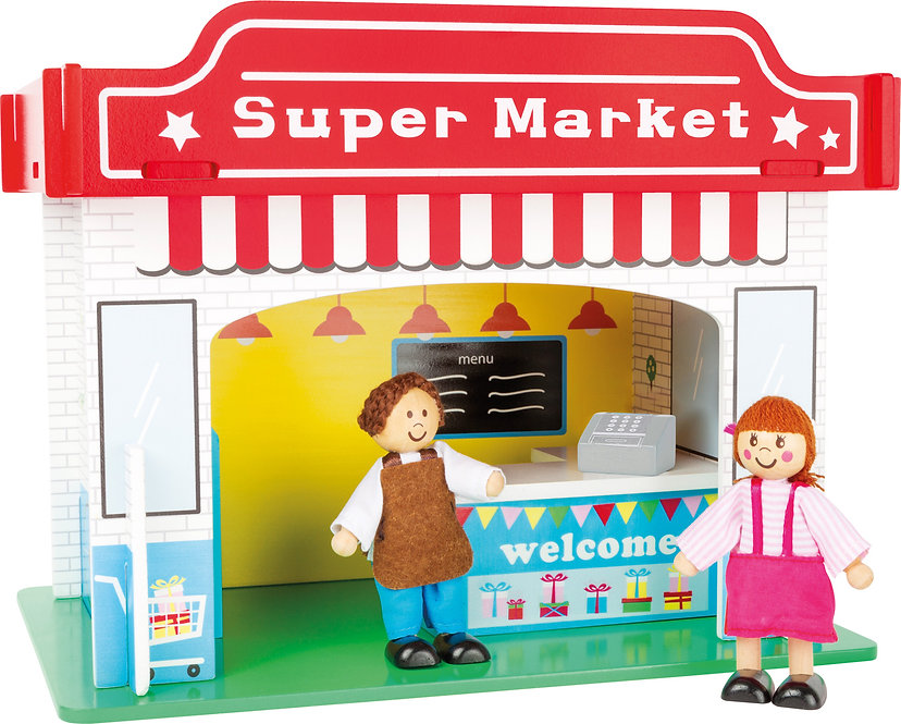 Playhouse Supermarket with Accessories  Κωδ.L10853