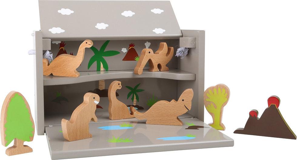 Playbox δεινοσαύρων 9τεμ.Κωδ.L5718