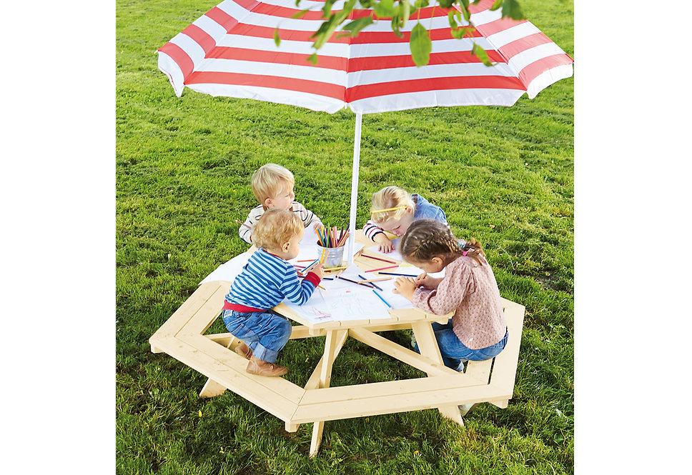 """"""" Παιδικό παγκάκι 6 θέσεων  κήπου """"  κωδ.PN0201038"""