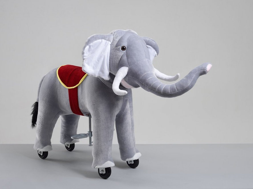 Delyxe Ελέφαντας  Pro Ιππασίας   Ύψος 85 εκ  ως 6 ετών κωδ.HP3150