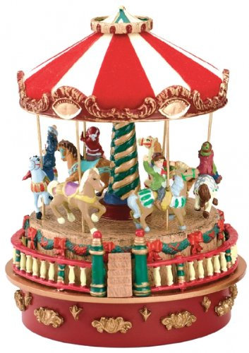 Mini Carousel Carnival Music Box, κωδ.19704