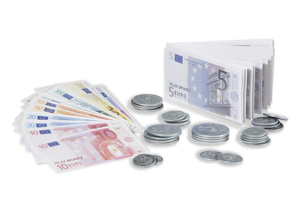 Χρήματα σε ευρώ   134τεμ.  κωδ.PN0228005