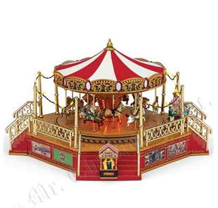 WORLD'S FAIR BOARDWALK CAROUSEL™ 38εκ.κωδ.79859
