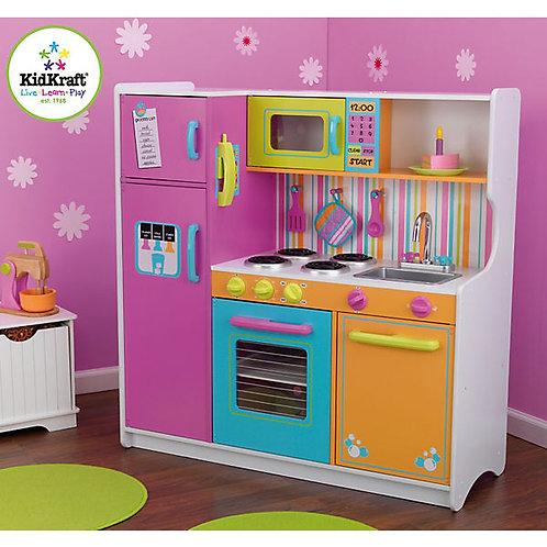 """Κουζίνα kidkraft """"Deluxe Big & Bright"""" Κωδ.53100"""
