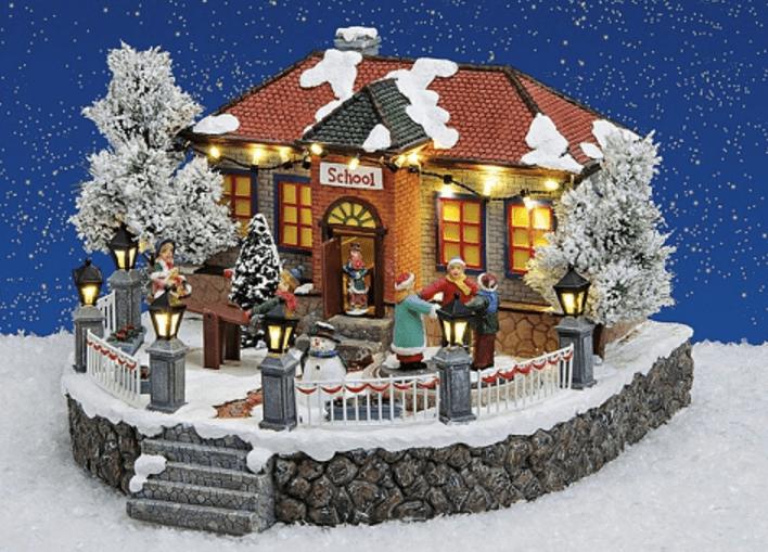 Χωριουδάκι -Χριστουγενιάτικο κωδ.Z2004