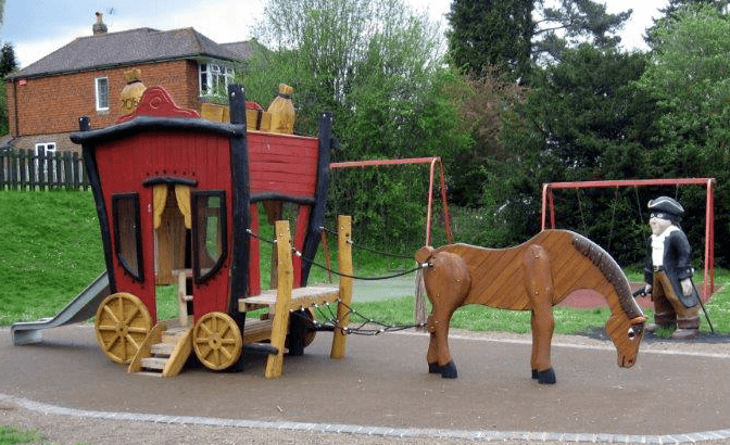 'Αμαξα Εποχής με άλογα Κωδ.Η8914