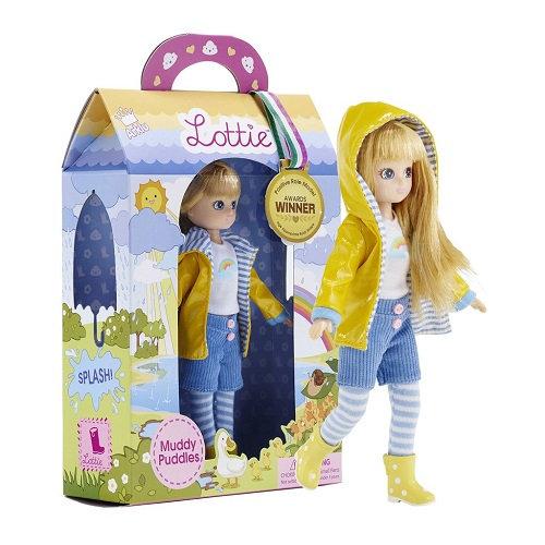 Κούκλα Βινύλιου'Βροχερή μέρα' 18εκ. Κωδ: 213139