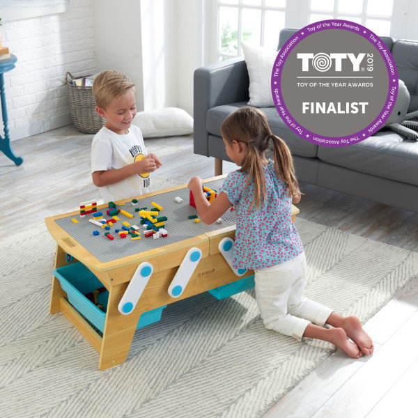 Building Bricks Play N Store Table κωδ.17512
