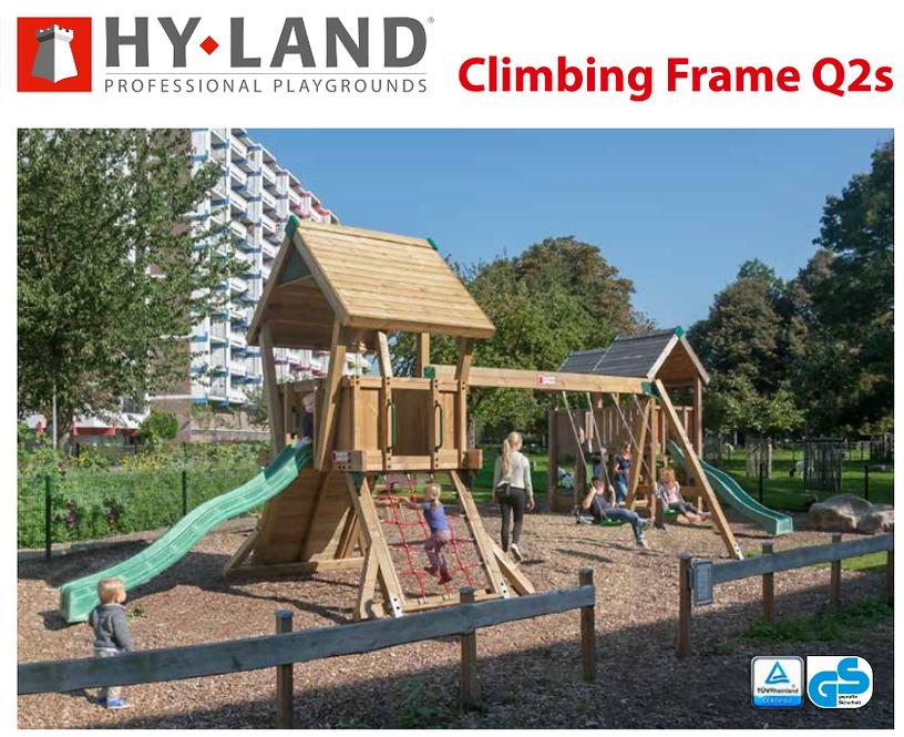 10-Παιδική χαρά Q2s Hy-land Professional  Κωδ.Q2s