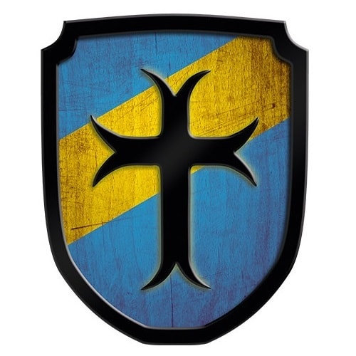 Ασπίδα Οικόσημο Σταυρός μπλε Κωδικός:Τ335465