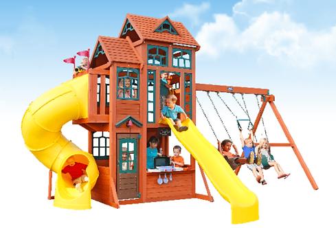 """Νέα Μεγάλη Παιδική χαρά """"Canyon Ridge Playset Κωδ.F25715E"""