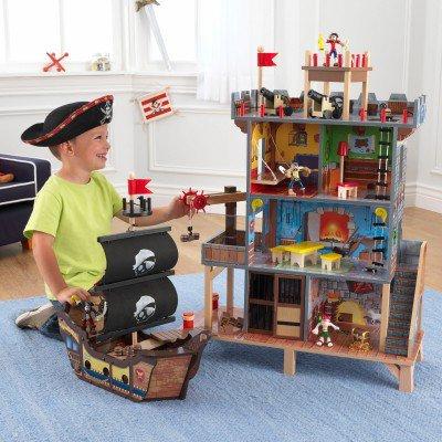 """""""Φανταστικό πειρατικό καράβι με κάστρο"""" Κωδ.63284"""