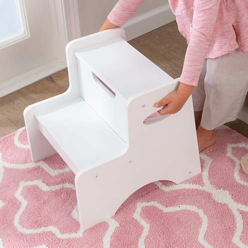 Σκαμπό-καθισματάκι λευκό κωδ.15501