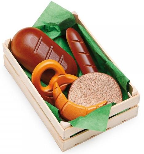Μεγάλο καφάσι με ξύλινα ψωμιά κωδ.28130
