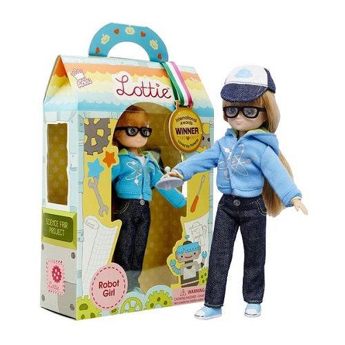 Κούκλα Βινύλιου'Κορίτσι Ρομπότ' 18εκ. Κωδ: 213066