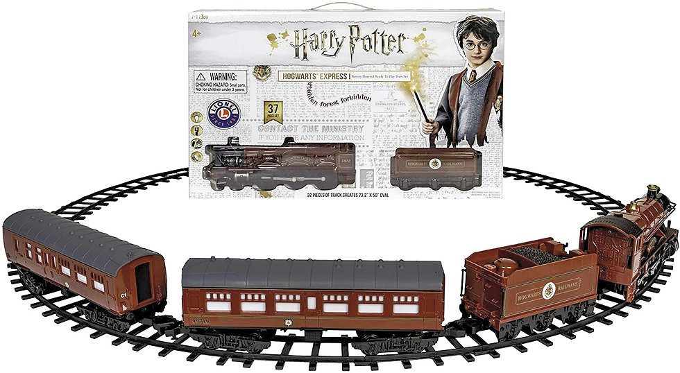 Harry Potter Hogwarts Express Train  με τηλε/ριο,φώτα & ήχους Κωδ: 4-711960
