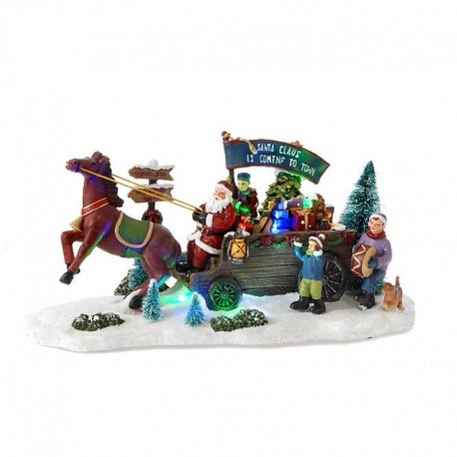 Αγ. Βασίλη με άλογα και παιδάκια κωδ.L424