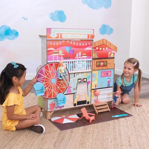 """Κουκλόσπιτο δυο όψεων """"Ferris Wheel Fun Beach House"""" Κωδ.20053"""