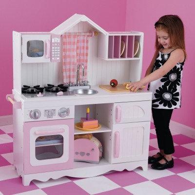 """Κουζίνα kidkraft""""Modern Country Kitchen"""" Κωδ.53222"""