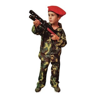 """Παιδική στολή """"Στρατιώτης κοκκινοσκούφης"""" 4-6, 7-10, 11-14 ετών κωδ:TS32091"""