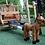 Thumbnail: 'Αμαξα ξύλινη με άλογα Κωδ.Η8913