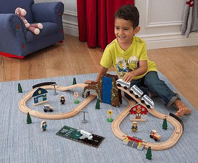 kidkraft τρένο worldfamilytime