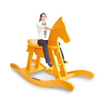 Big Extra  Κουνιστό ξύλινο άλογο  Design Κωδ.P24940