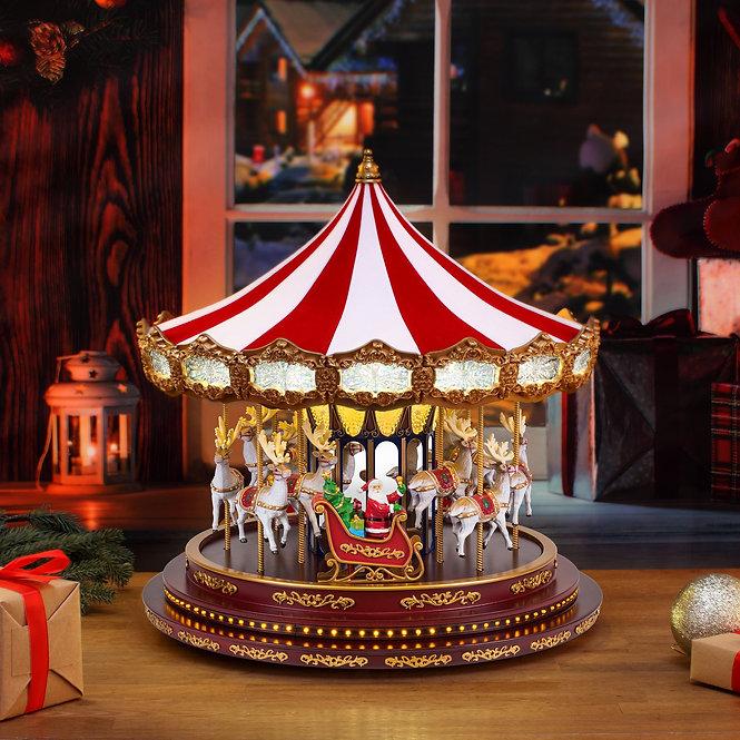 Deluxe Christmas Carousel 42εκ. κωδ.19699