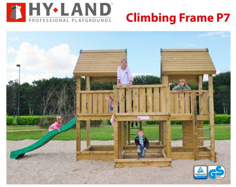 11-Παιδική χαρά P7-Hy-land Professional  Κωδ.P7