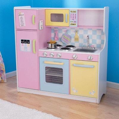 """Κουζίνα kidkraft """"Large Pastel"""" Κωδ.53181"""