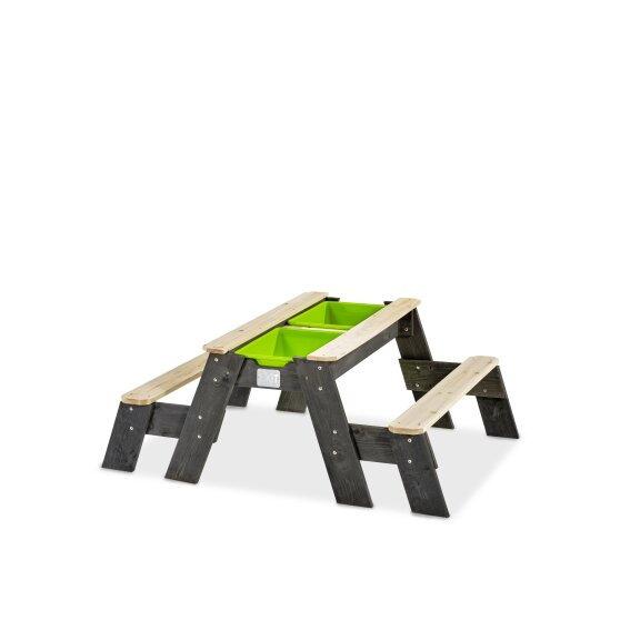 Πολυλειτουργικό  Τραπέζι άμμου  με 2 παγκάκια  κωδ.EX52051005