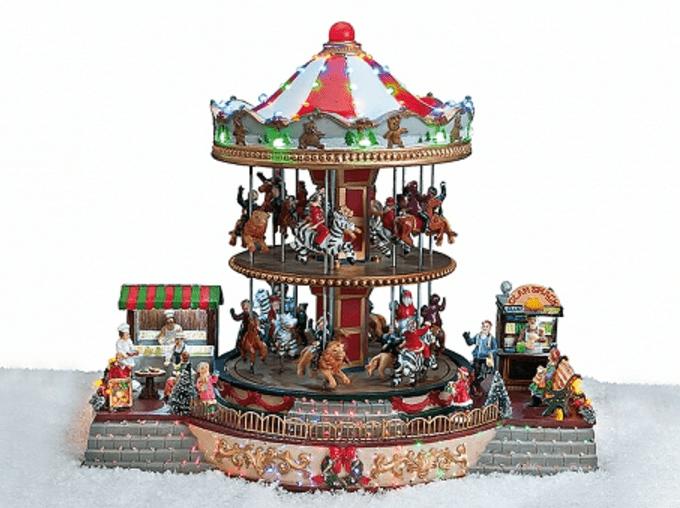 Χριστουγεννιάτικο Carousel κωδ.Z2017