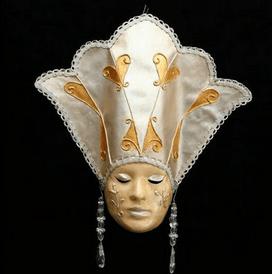 Βενετσιάνικη Μάσκα Δόγησσα Κωδ.Β49