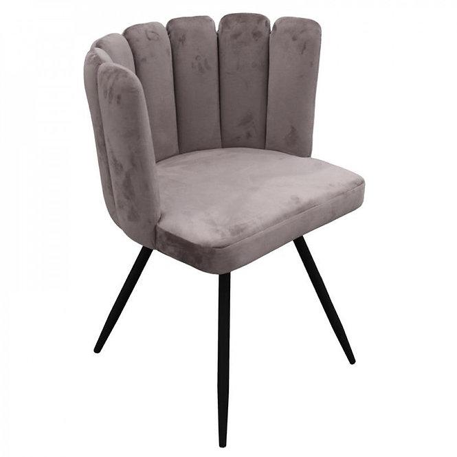 Design Κάθισμα Bελούδινο κινητό  κωδ.C6521