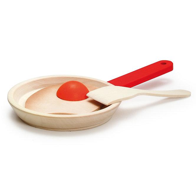 Ξύλινο τηγάνι κωδ.10337