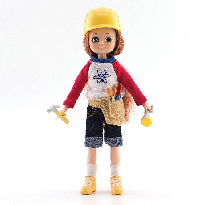 Κούκλα Βινύλιου'Εξερευνήτρια' 18εκ. Κωδ: 213305