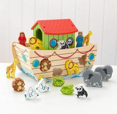 Εκπαιδευτικό Noah's Ark Shape Sorter κωδ.63244