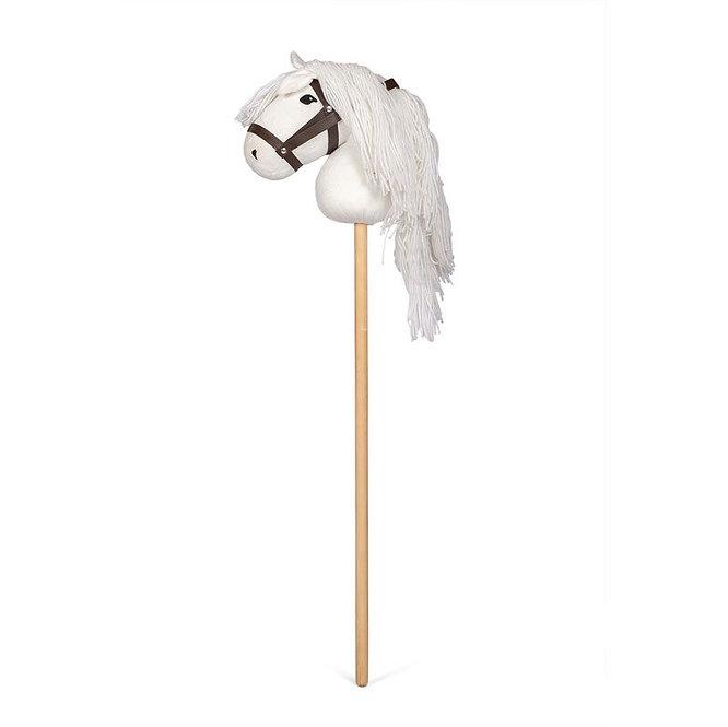 Άλογο κοντάρι λευκό κωδ: Τ0184222