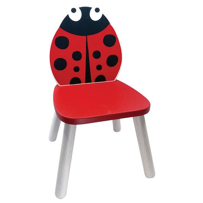 Καρέκλα 'Πασχαλίτσα' μασίφ ξύλο Κωδ:Τ5103211