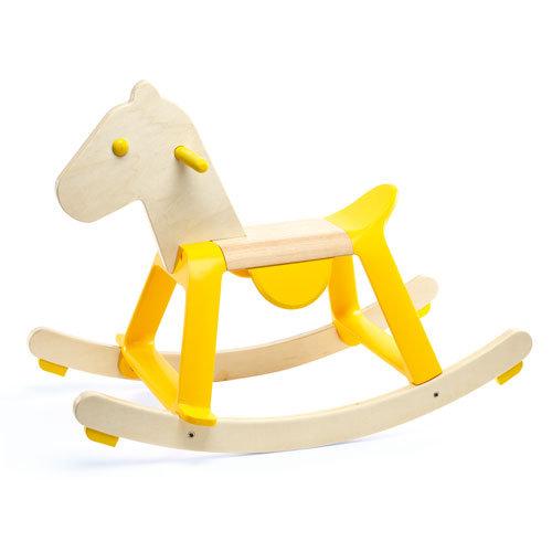 Κουνιστό  ξύλινο άλογο  κωδ:T0203