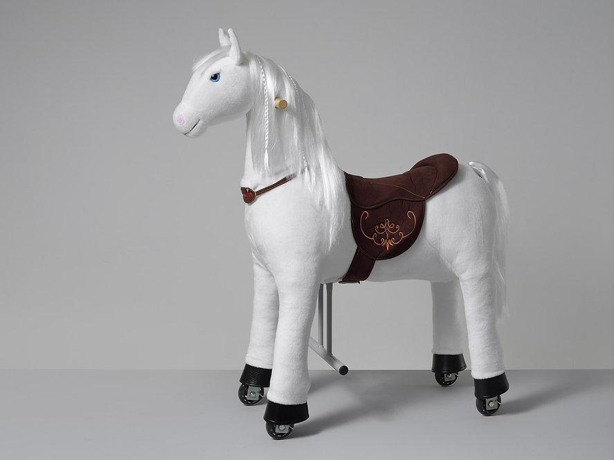 Άσπρο άλογο ιππασίας 5-12 ετών  Ύψος 104εκ. κωδ.HM4050