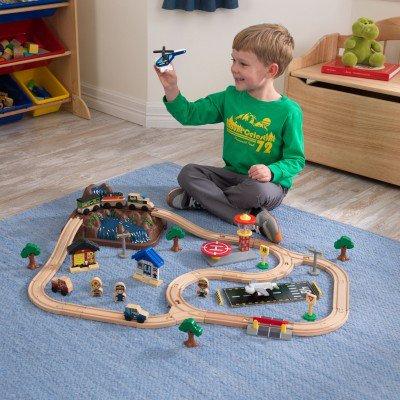 kidkraft Bucket Top Mountain Train Set Κωδ.17826 τρένο worldfamilytime