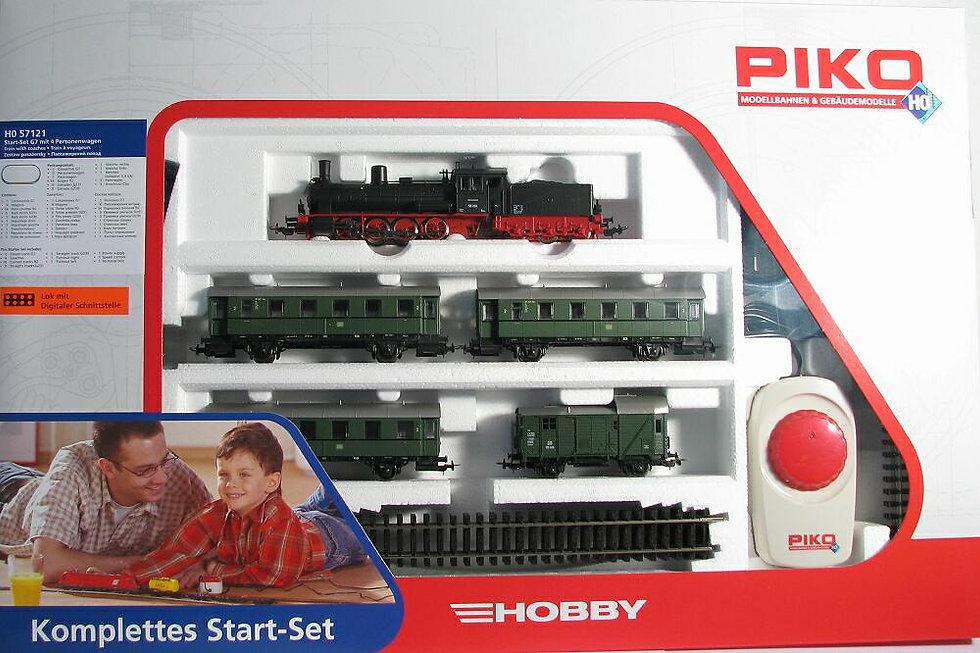 """Τρένο ηλεκτρικό με 4 βαγόνια """"Piko""""κωδ: HO57081"""