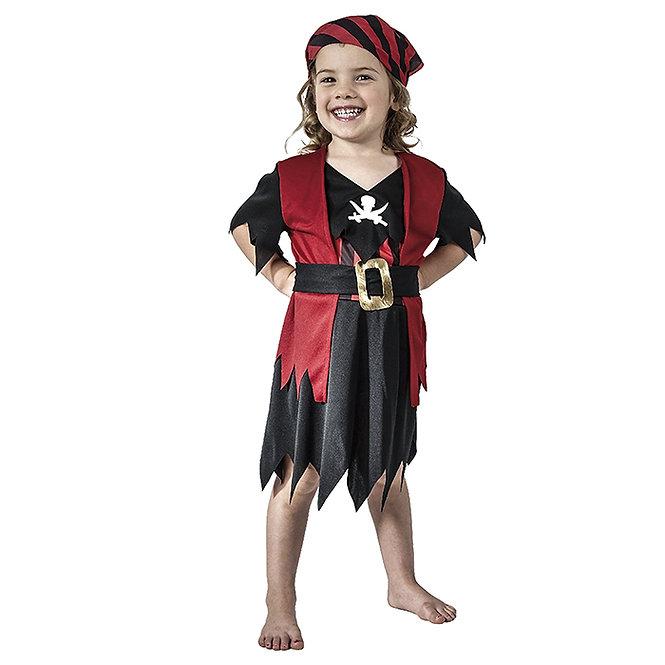 """Παιδική στολή """"Μπεμπέ Πειρατίνα"""" 1-2, 3-4 ετών κωδ:TS32017"""