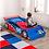 Thumbnail: kidkraft Racecar Toddler Bed Κωδ.76038